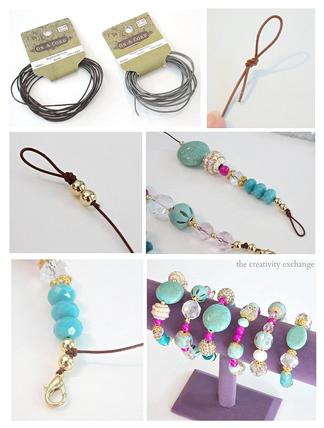 easy diy knot bracelets and necklaces