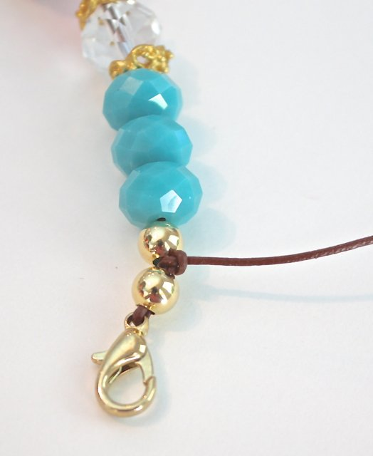 Easy DIY leather cord bracelets and necklaces using a knot technique.  The Creativity Exchange