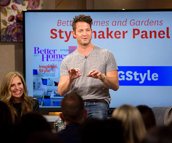 Nate Berkus at the Better Homes and Gardens Stylemaker Event
