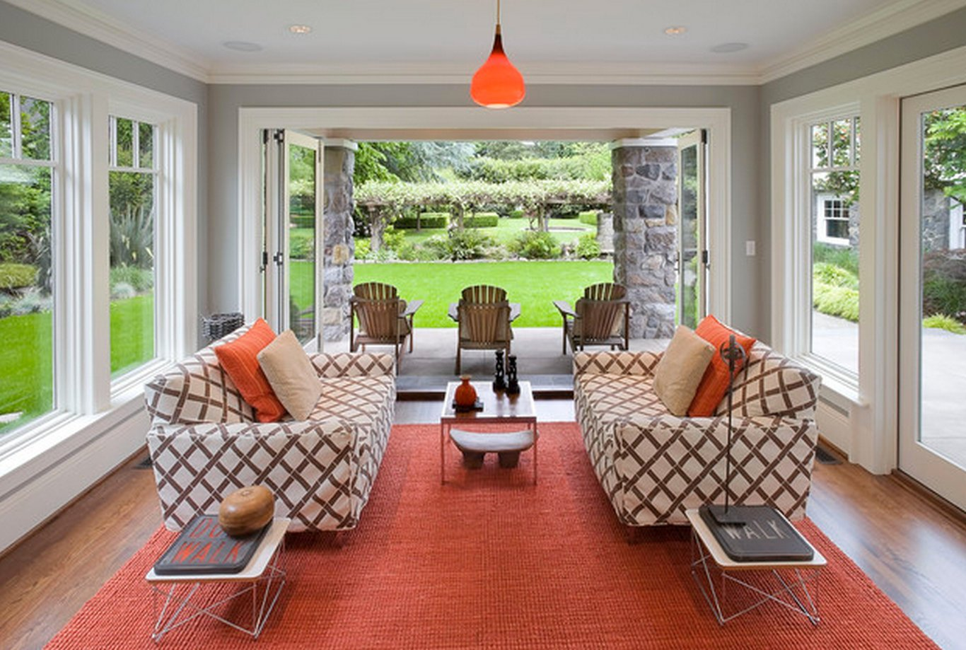 Gray and Orange Color Inspiration {Evolution of Style}
