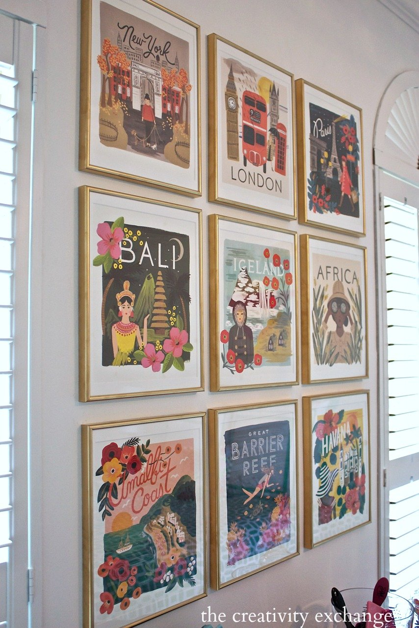 Calendar Art Meaning : Diy framed calendar prints