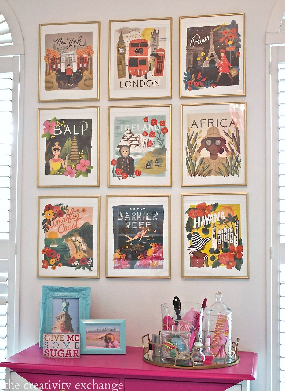 turn wall calendar art into beautful gallery walls the creativity exchange