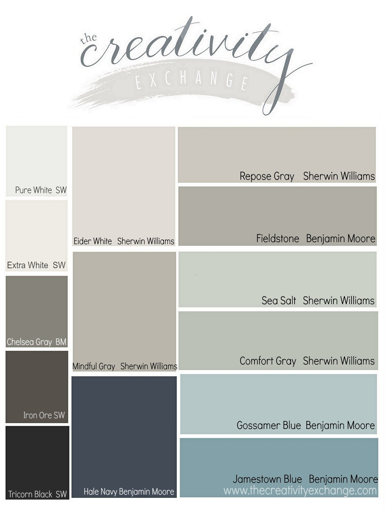 Results from the reader favorite paint color poll Great paint colors