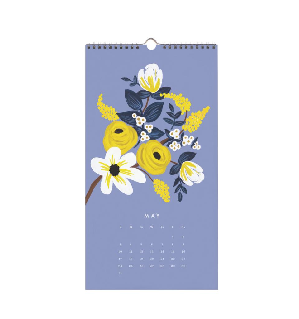 Les Fleurs 2015 calendar from RIfle Paper Co.  Gorgeous calendar for framing.