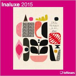 Inaluxe 2015 wall calendar perfect for framing art.  The Creativity Exchange