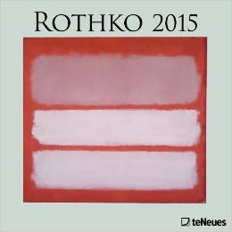 Rothko 2015 calendar.  Perfect for framing for gallery wall.