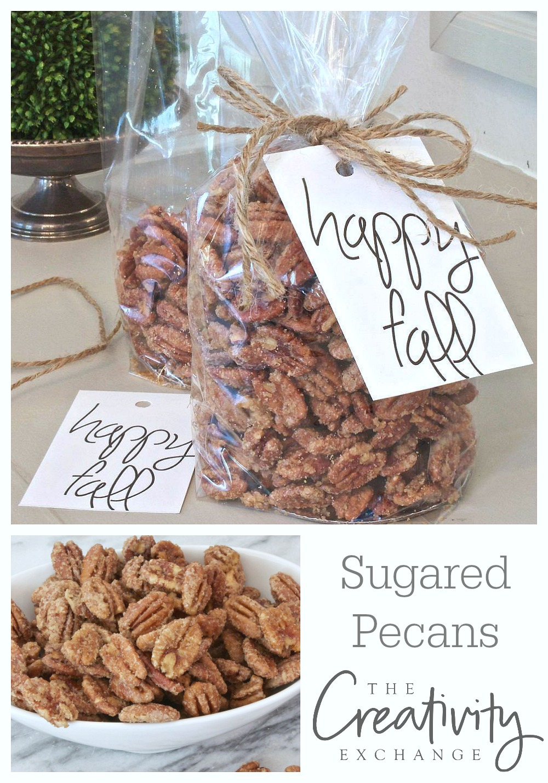 Sugared Pecans Made Three Ways