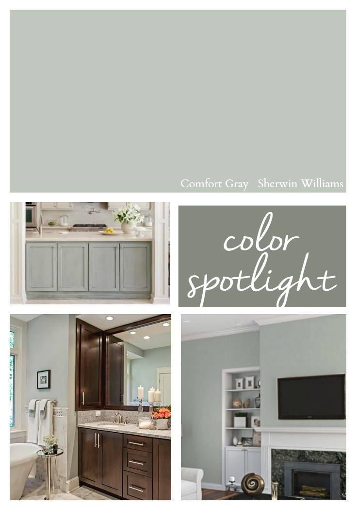 Sherwin Williams Comfort Gray Color Spotlight