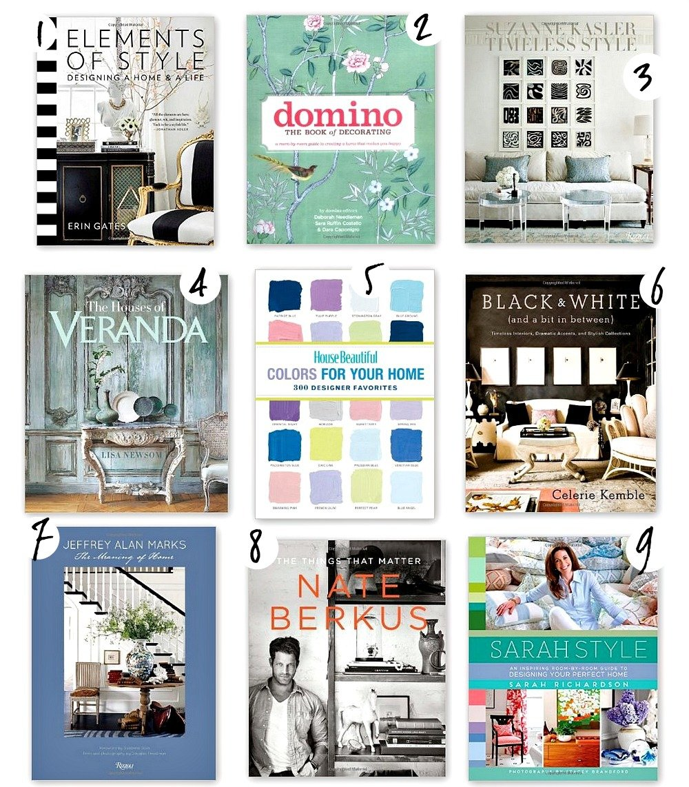Best Design And Decorating Books For Styling And Choosing Paint Colors. The  Creativity Exchange Part 65