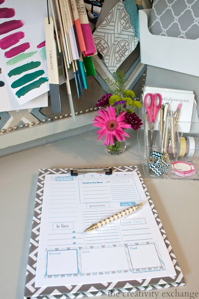 Free customizable and printable To Do list. Just type in your section headers and print. The Creativity Exchange