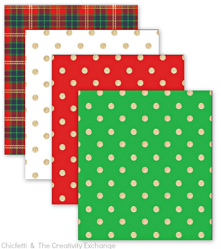 photograph about Free Printable Christmas Paper titled Free of charge Xmas Printables: Reward Tags, Wrap Paper and Bows