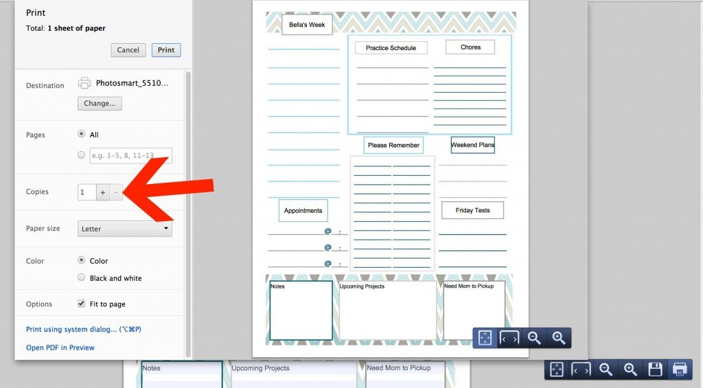 free printable and customizable to do list just type in your labels for each section