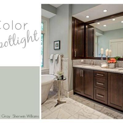 Color Spotlight: Sherwin Williams Comfort Gray