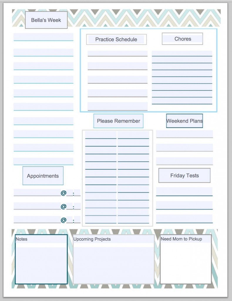 Free customizable and printable To Do List. Just type in your your list labels and print. The Creativity Exchange