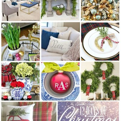 Christmas Home Tours Recap and Link Party for YOU!