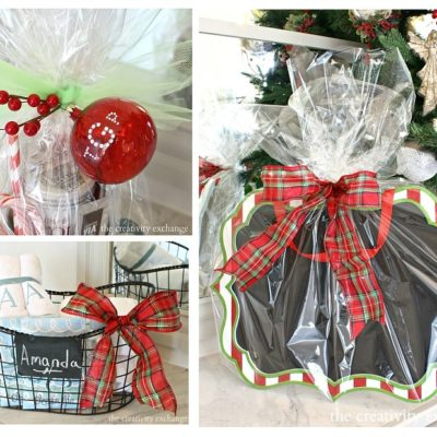Creative Gift/Wrap Ideas and a Giveaway
