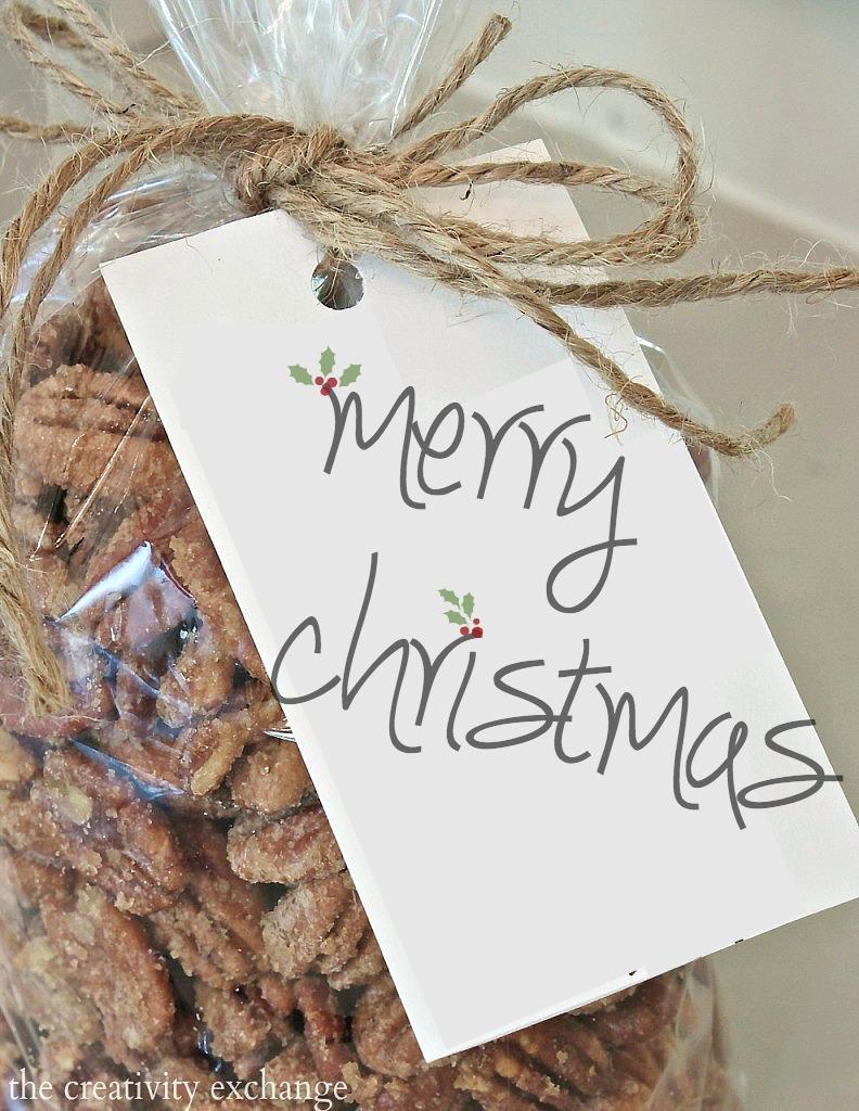 Free Printable Merry Christmas Gift Tag