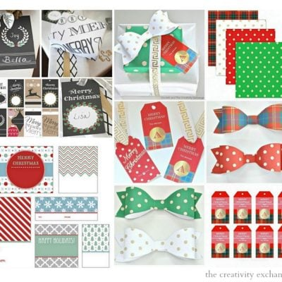 All My Christmas Free Printables Over the Years