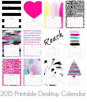 The creativity exchange inspiring diy ideas for a - Desktop calendar design ideas ...
