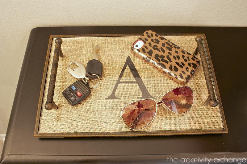 Inital tray from Kirkland's