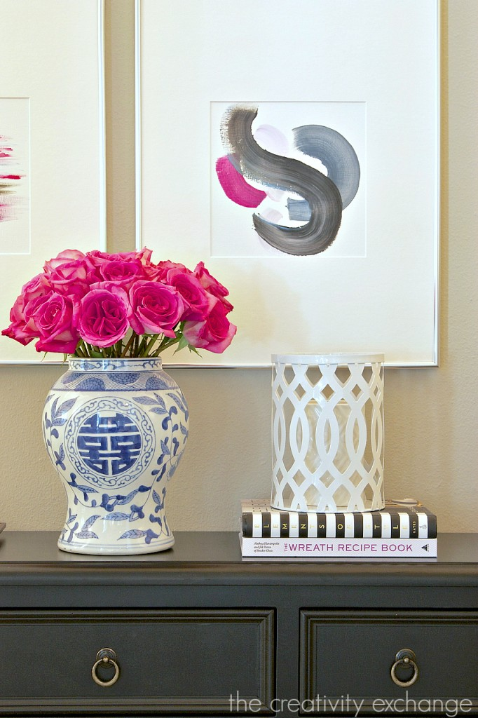 Round up of narrow furniture storage pieces for hallways and small spaces.