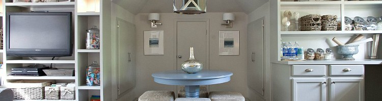 Wall color is Repose Gray and Cabinets are Mindful Gray. Both Sherwin Williams colors. The Creativity Exchange