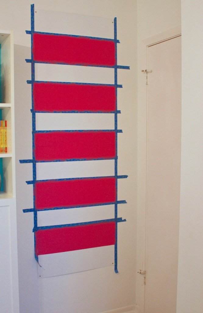 DIY Magnetic Board Tutorial paint or fabric covered