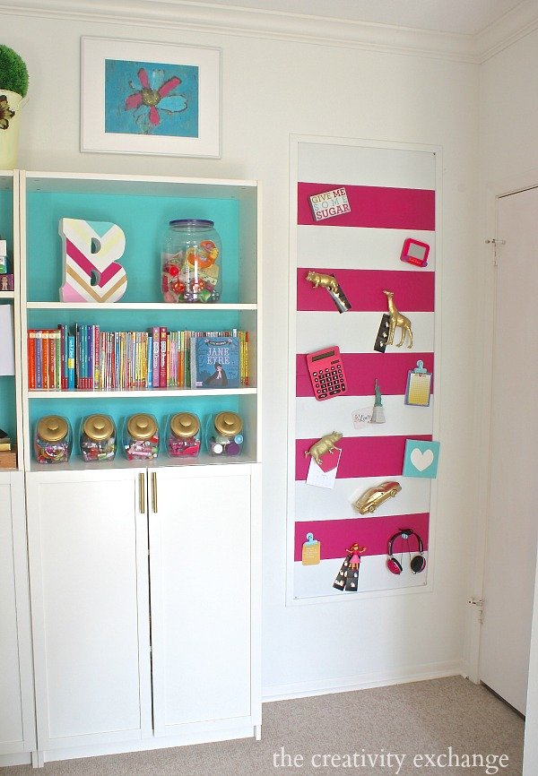 how to make a fabric magnetic board
