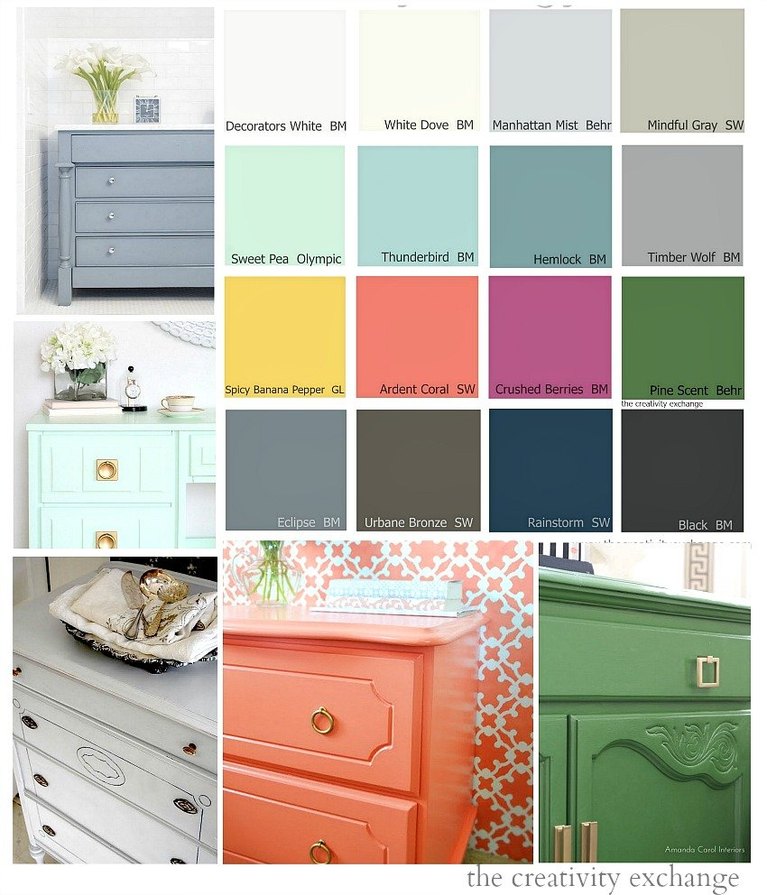 16 of the Best Paint Colors for Painting Furniture