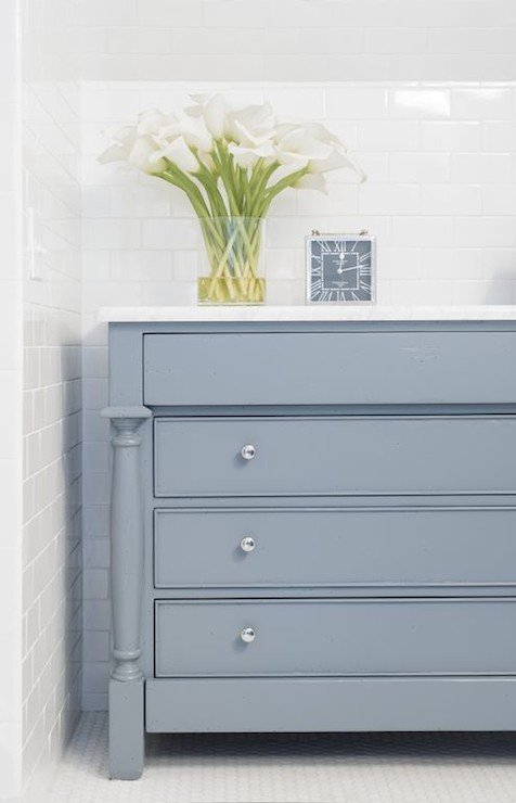 Cabinet Painted In The Color Eclipse From Benjamin Moore 16 Of Best Furniture Paint