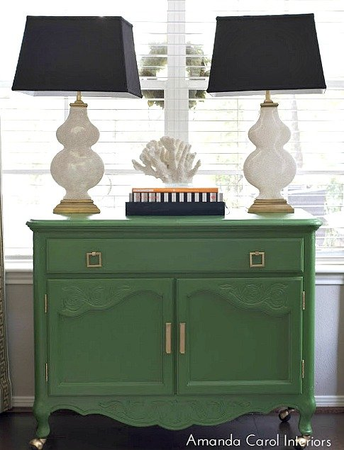 Chest Painted In Pine Scent From Behr 16 Of The Most Versatile Paint Colors For