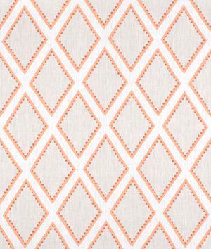 Portfolio Brookhaven Coral Fabric. Online Fabric Store.