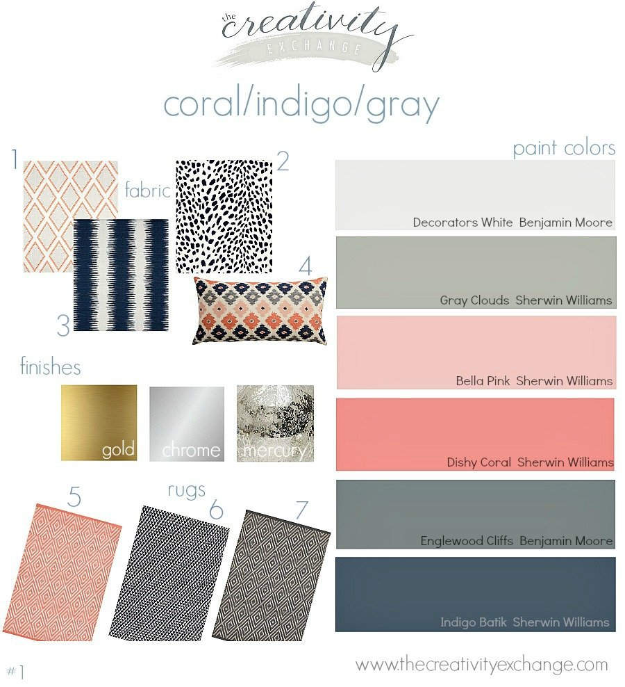 layering indigo black and gray moody monday. Black Bedroom Furniture Sets. Home Design Ideas