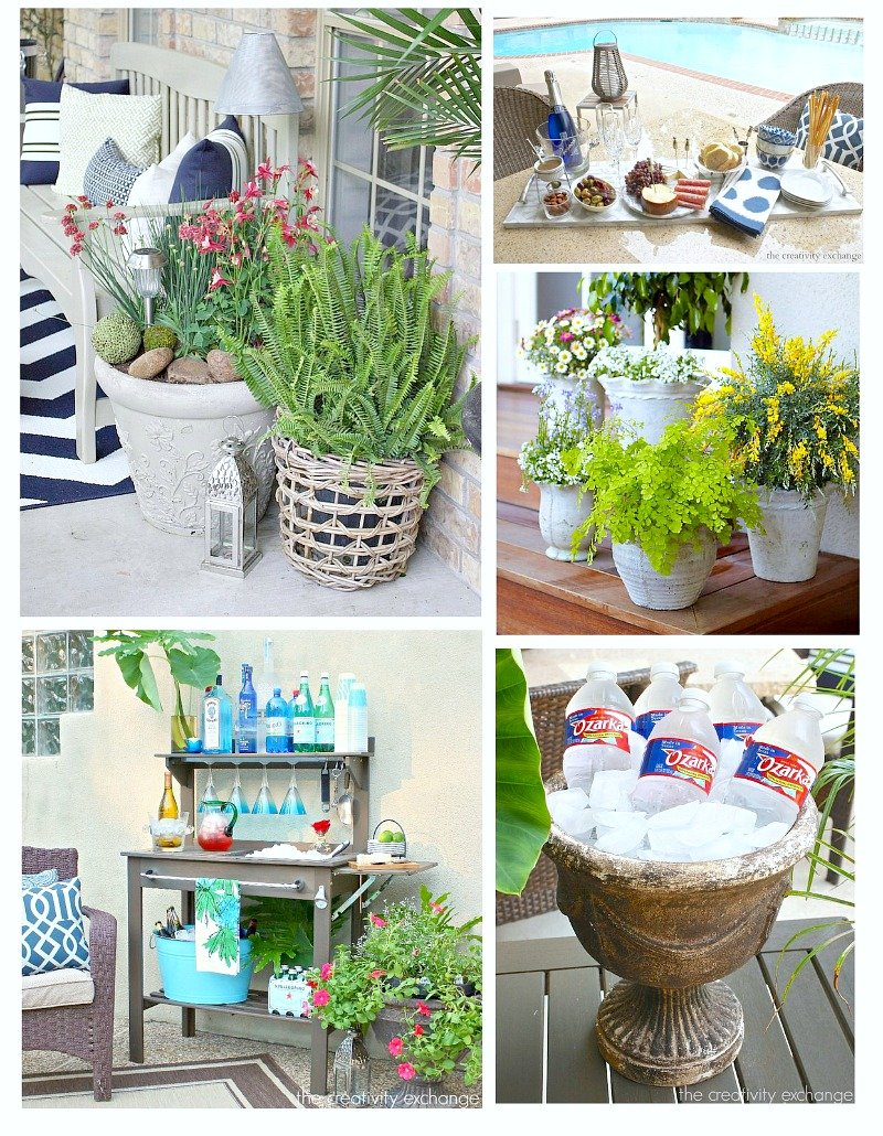 Creative outdoor landscaping decor and entertaining ideas for Decoration accessoire