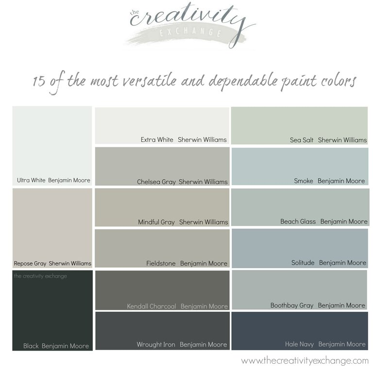15 Of The Most Versatile And Dependable Paint Colors All