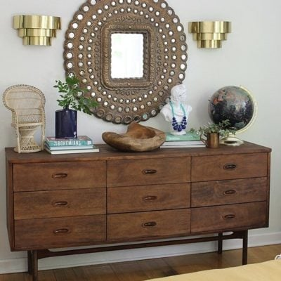 Craigslist Trash to Treasure Dresser Revamp