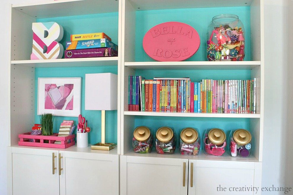 Creative ways to use candy and cookie jars for out in the open organizing. The Creativity Exchange