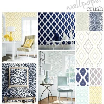 Favorite Wallpaper Trends {Wallpaper Crush}