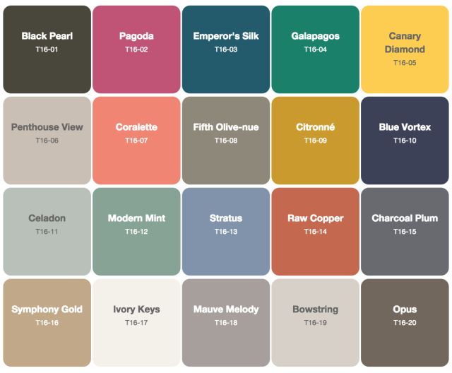 2016 paint color forecasts and trends Current color trends interior design