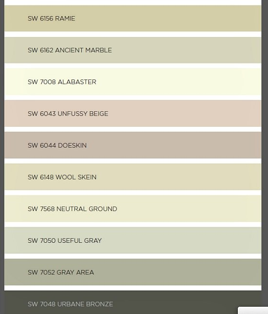 2016 paint color forecasts and trends for Best neutral colors 2016