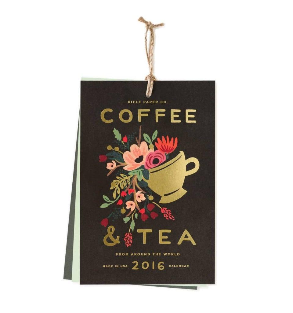 2016 Rifle Paper Company Coffee and Tea Calendar