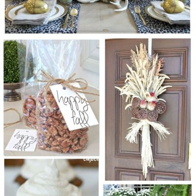 40 Creative Fall Decorating, Entertaining and Recipe Ideas