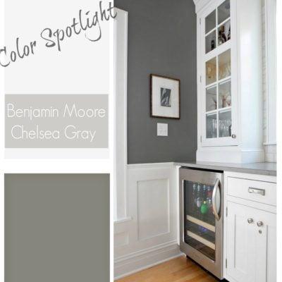 Color Spotlight: Benjamin Moore Chelsea Gray