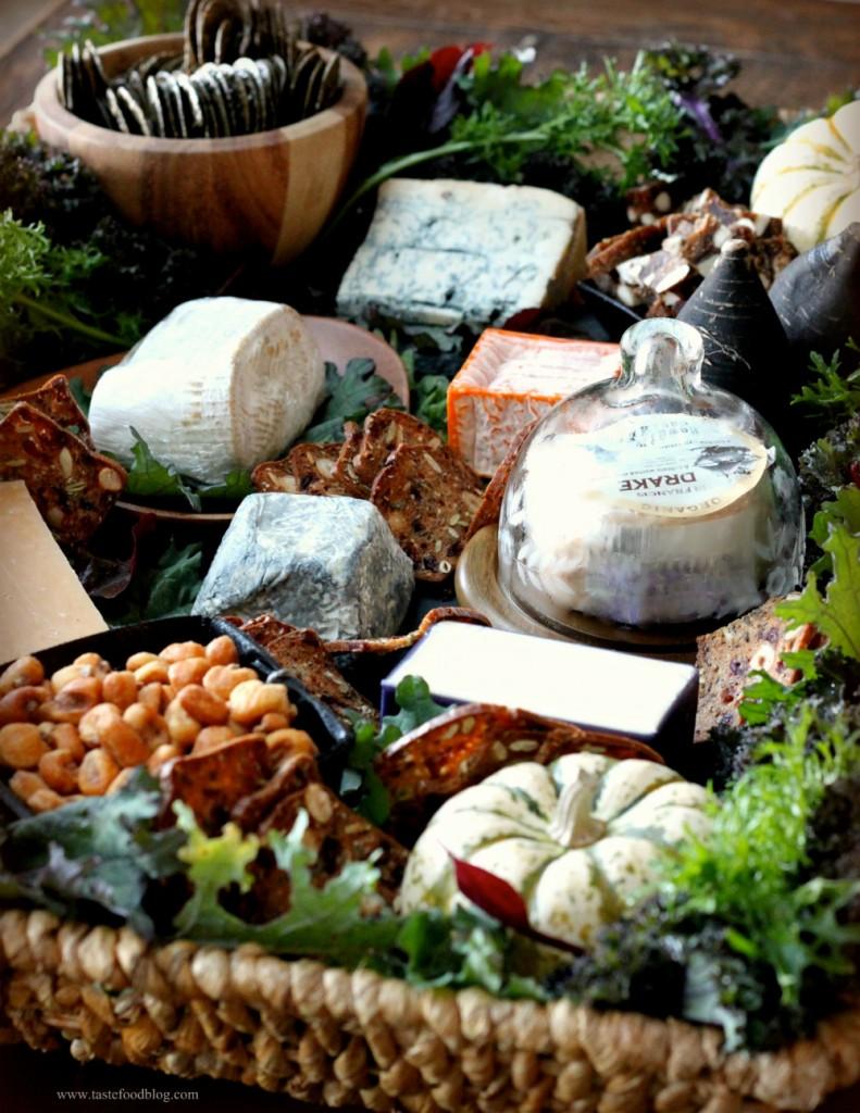 Fall cheese tray