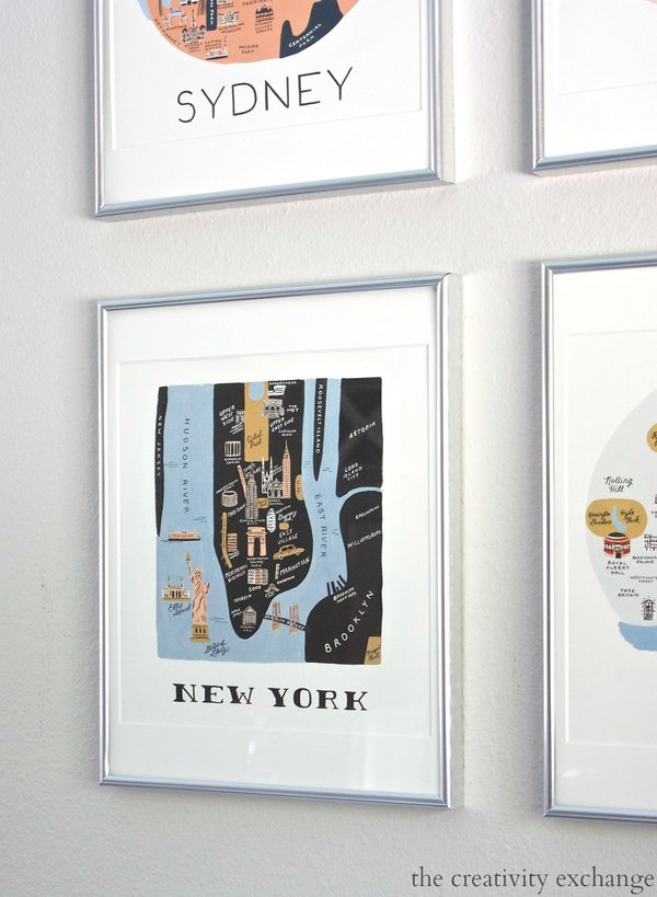 2016 Rifle Paper Co. Frameable Calendars and Gallery Wall