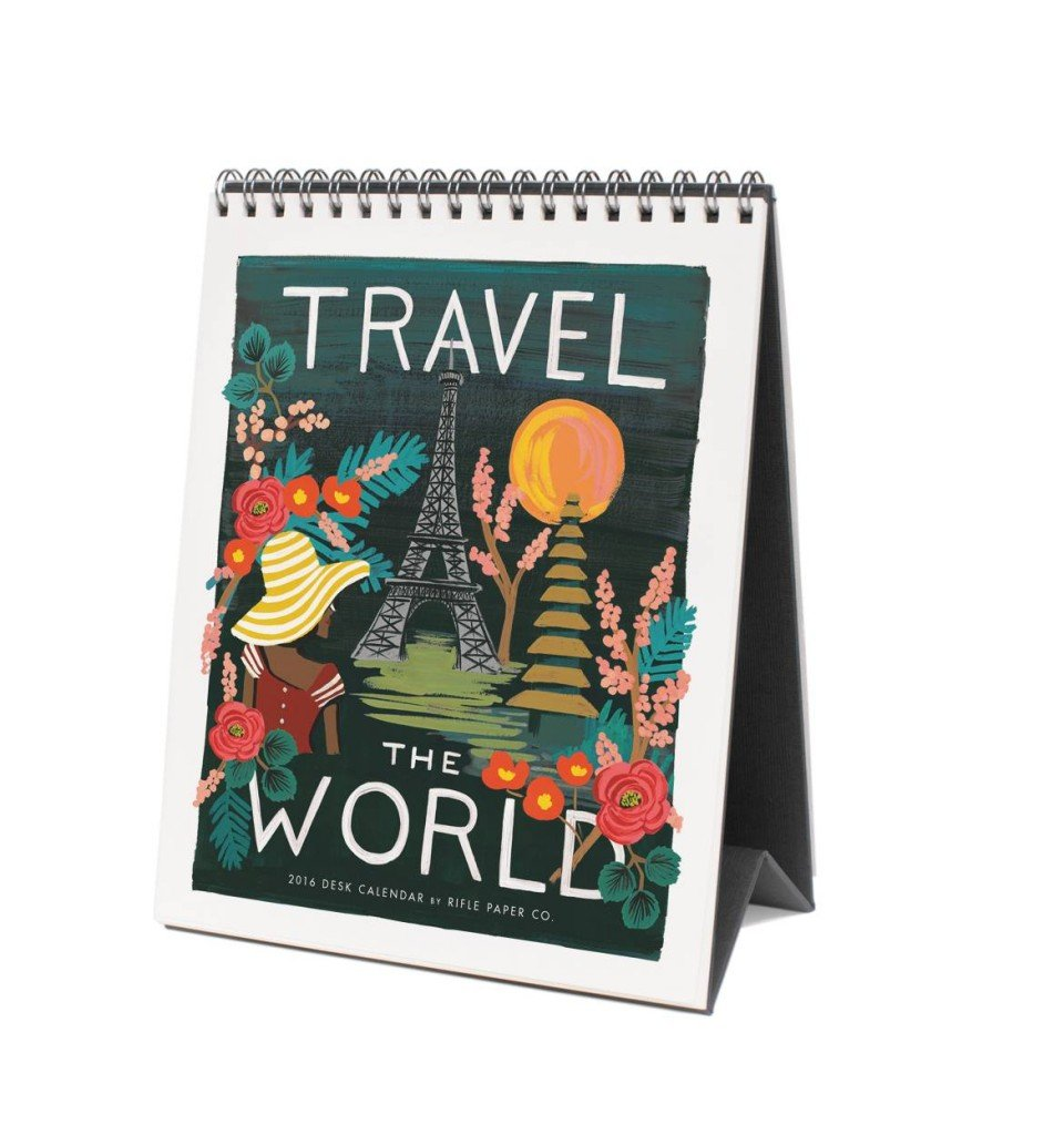 Calendar Illustrations : Rifle paper co frameable calendars and gallery wall