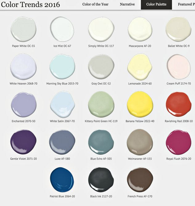 benjamin moore color trends 2015 my picks on home paint color trends