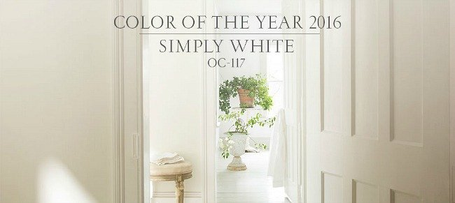 2016 Benjamin Moore Color of the Year