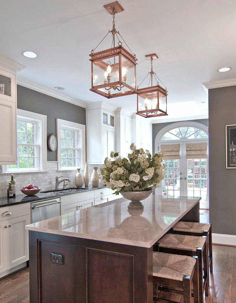 Beautiful kitchen design from Carolina Design Associates.