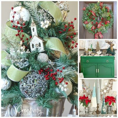 Creative Christmas Decorating Projects and a Few Tricks